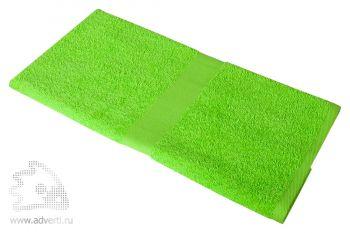 Полотенце махровое «Medium», зеленое
