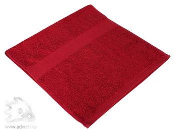 Полотенце махровое «Small», бордовое