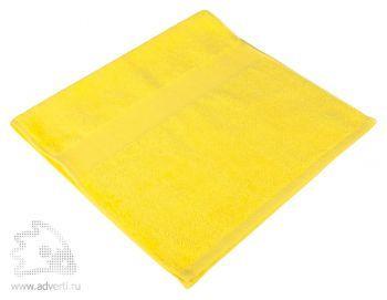 Полотенце махровое «Small», желтое