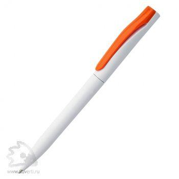 Ручка шариковая «Pin», оранжевый клип