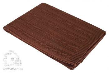 Плед «Comfort», темно-коричневый