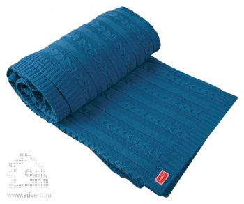 Плед «Comfort», синий