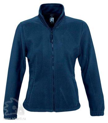 Куртка «North Women 300», женская, Sol's, Франция, темно-синяя