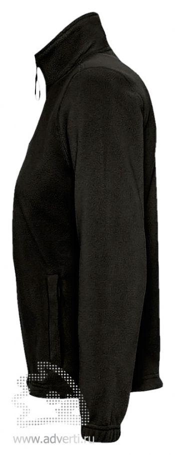 Куртка «North Women 300», женская, Sol's, Франция, вид сбоку