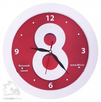 Часы настенные «Vivid Large», белые