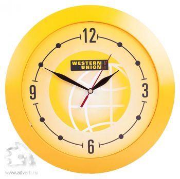 Часы настенные «Vivid Large», желтые