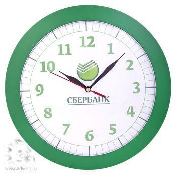 Часы настенные «Vivid Large», зеленые