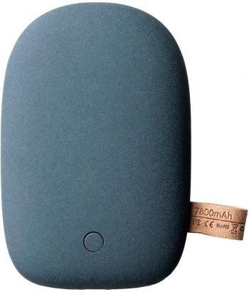 Универсальный внешний аккумулятор «Pebble» 7800 mAh, темно-серый