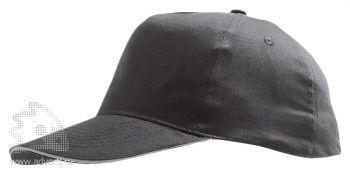 Бейсболка «Sunny 2», двухцветная, темно-серая с серым
