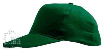 Бейсболка «Sunny», темно-зеленая
