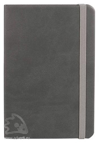 Блокнот «Freenote Mini», серый