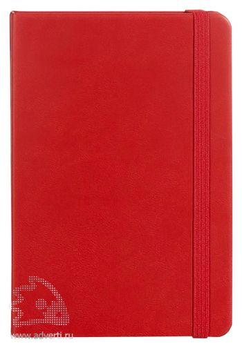 Блокнот «Freenote Mini», красный