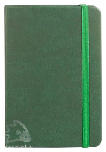 Блокнот «Freenote Mini», зеленый