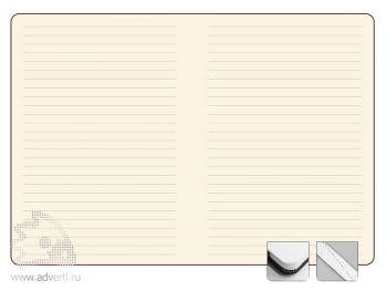 Тонированный внутренний блок записной книжки