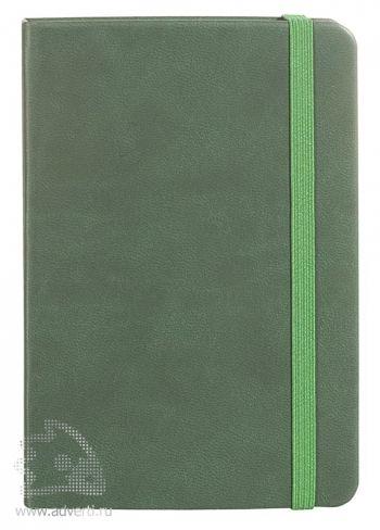 Записная книжка «Freenote», зеленая