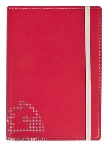 Блокнот «Vivid Colors», розовый