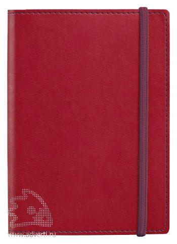 Блокнот «Vivid Colors», красный