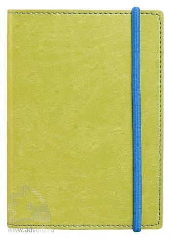 Блокнот «Vivid Colors», зеленый