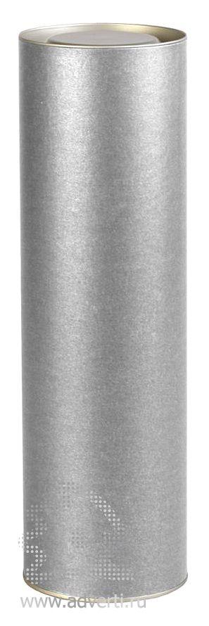 Тубус подарочный «Блеск», серебристый