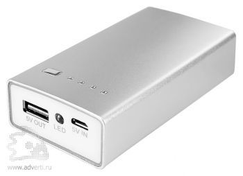 Универсальный внешний аккумулятор «Alum» 5600 mAh