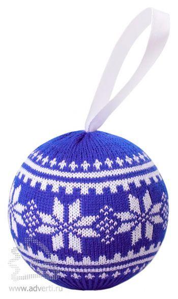 Шар новогодний «Скандик», темно-синий