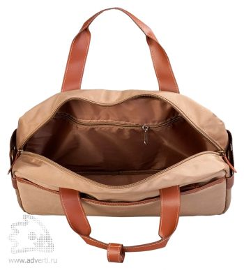 """Конференц-сумка «Camel» с отделением для ноутбука 15"""", открытая"""
