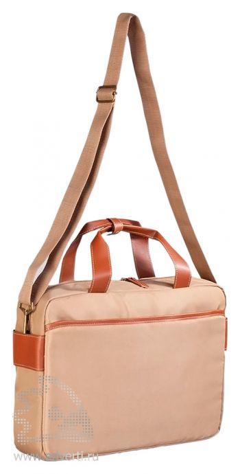 Конференц-сумка «Camel» с отделением для ноутбука, регулирующийся ремень