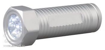 LED-фонарик «Болт», включенный