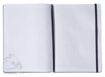 Белый внутренний блок записной книжки
