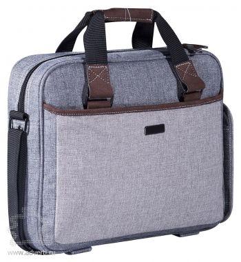 """Конференц-сумка «Барбадос» с отделением для ноутбука 15"""", общий дизайн"""