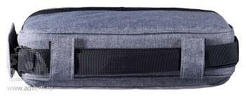 """Конференц-сумка «Барбадос» с отделением для ноутбука 15"""", вид сверху"""