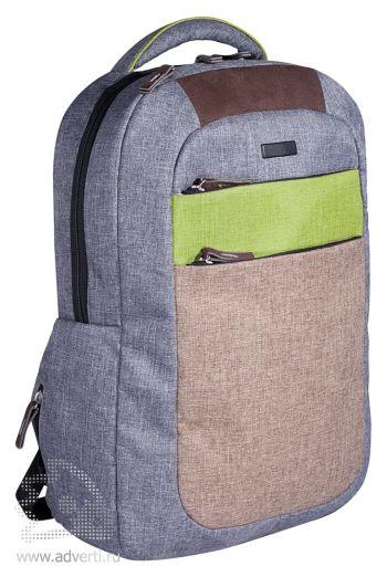 """Рюкзак «Канкун» с отделением для ноутбука 15"""", общий вид"""