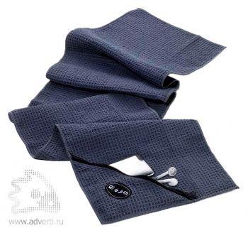 Полотенце для фитнеса «Sport» с карманом (TROIKA)