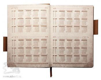 Ежедневник «Acero», календарь