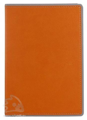 Ежедневник «FreeNote», оранжевый