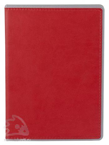 Ежедневник «FreeNote», красный