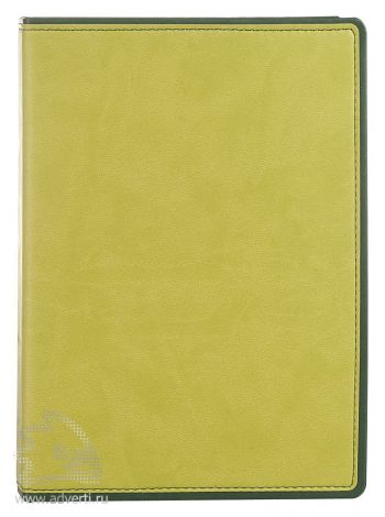 Ежедневник «FreeNote», зеленый