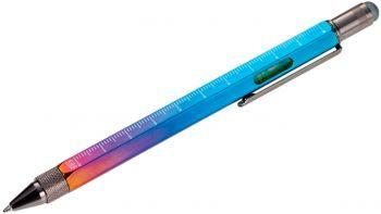 Ручка шариковая «Construction» (TROIKA), мультиинструмент, радужная