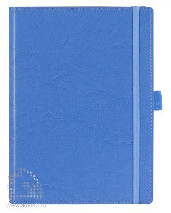 Ежедневник «Soft Book», голубой