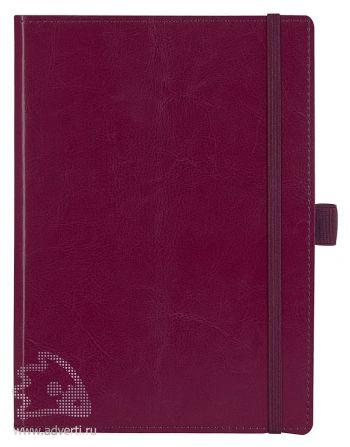 Ежедневник «Soft Book», бордовый