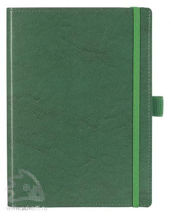 Ежедневник «Soft Book», зеленый