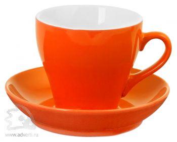 Чайная пара «Tulip», оранжевая