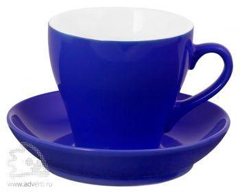 Чайная пара «Tulip», синяя