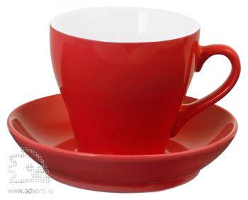 Чайная пара «Tulip», красная