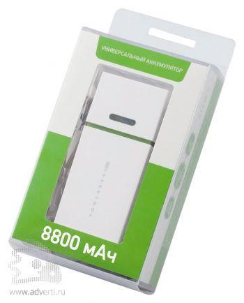 Универсальный внешний аккумулятор «Light» 8800 mAh, упаковка