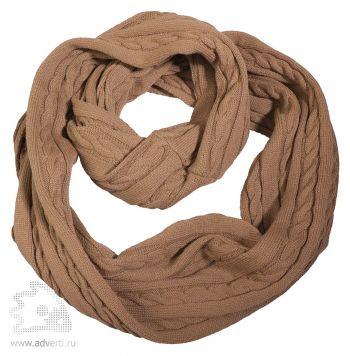 Шарф-снуд «Comfort», светло-коричневый