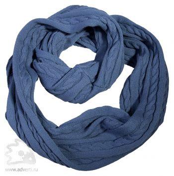 Шарф-снуд «Comfort», синий