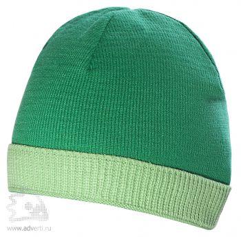 Шапка «Top», зеленая