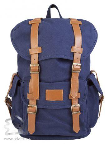 """Рюкзак Brooklyn, с отделением для ноутбука 15,6"""", вид спереди"""