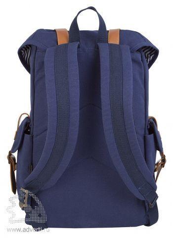 "Рюкзак Brooklyn, с отделением для ноутбука 15,6"", вид сзади"